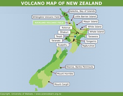 Interactive Map Of New Zealand.Mount Horrible Science Learning Hub