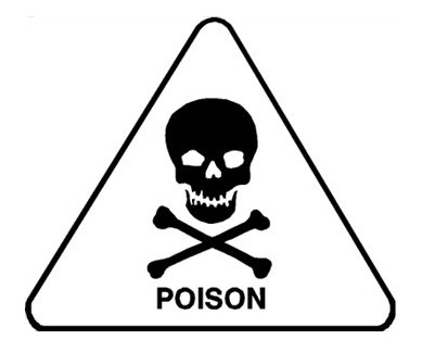 sign for poison science learning hub