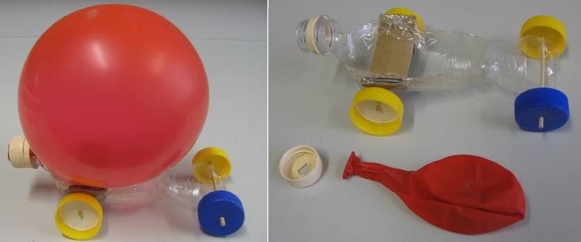 Balloon Car Challenge Science Learning Hub