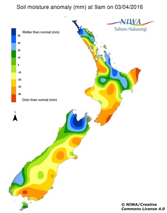 Using soil moisture maps — Science Learning Hub