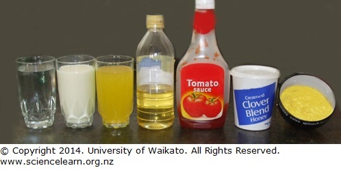 different liquids � science learning hub