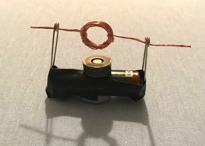 Model Of A Simple Electric Motor