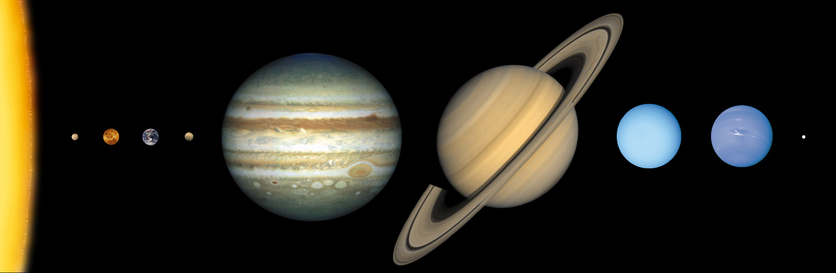 How a solar system is formed science learning hub our solar system ccuart Image collections