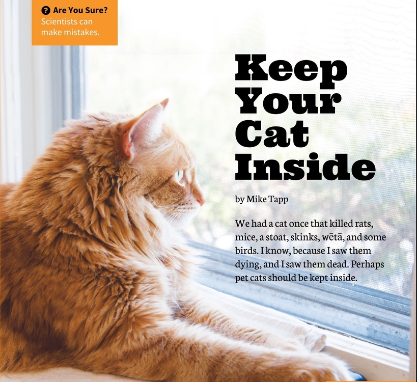 Keep Your Cat Inside Science Learning Hub