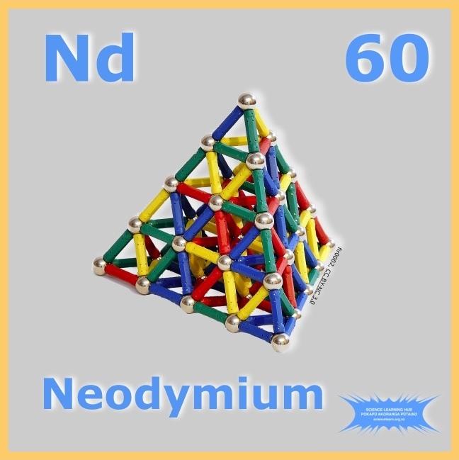Neodymium — Science Learning Hub